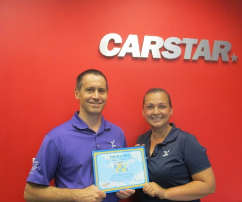CARSTAR Cambridge supports the fight against Cystic Fibrosis!